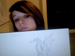 Strange Monster Drawing 2009-014