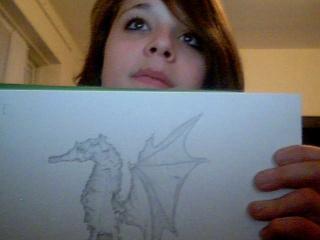 Strange Monster Drawing 2009-015