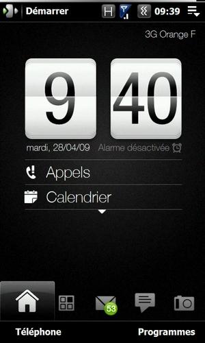 """Petit tuto pour supprimer """"Alarme désactivée"""" et changer la date sur la page d'acceuil Screen21"""