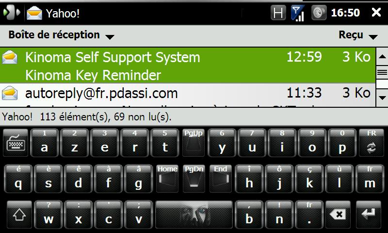 FingerKeyboard v2.1 / Skins de RR33 - Clavier Wvga Screen46