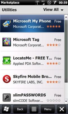 MARKETPLACE pour Windows 6.1 [cab dispo] + MarketPlaceRegionSwitch Screen75