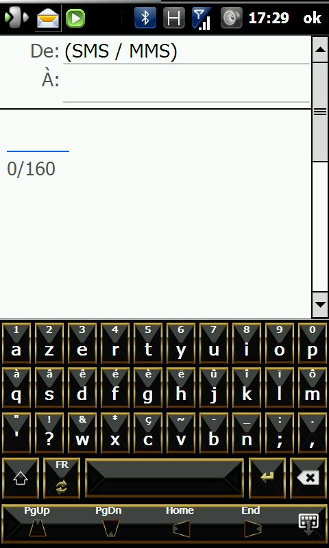 FingerKeyboard v2.1 / Skins de RR33 - Clavier Wvga Screen89