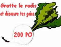Ticket Légume [Avoir réussi la quéte des légumes] Radis210