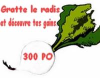 Ticket Légume [Avoir réussi la quéte des légumes] Radis310