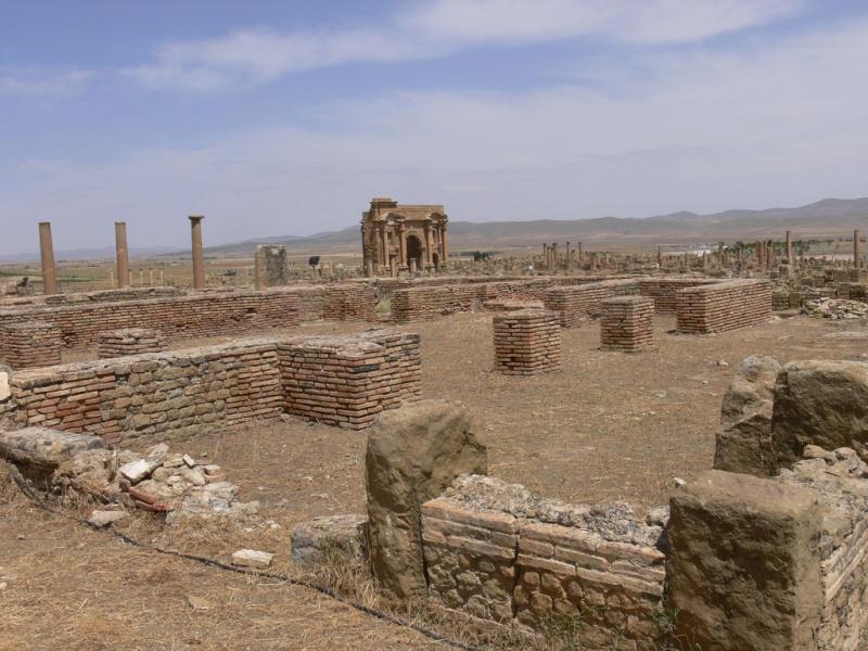 Timgad la  Rome Africaine 36626511