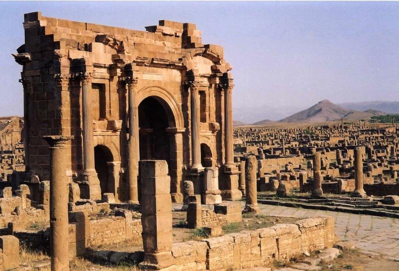 Timgad la  Rome Africaine 37505110