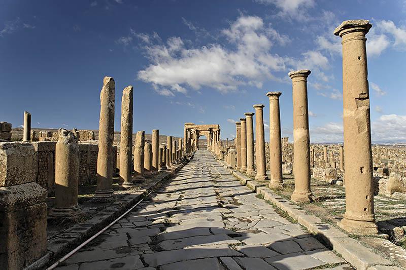 Timgad la  Rome Africaine 40699810