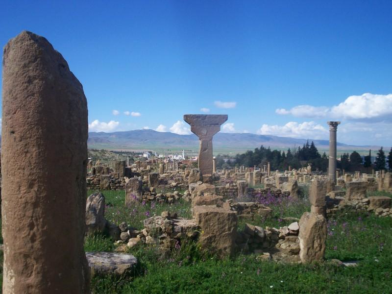 Timgad la  Rome Africaine Photo310