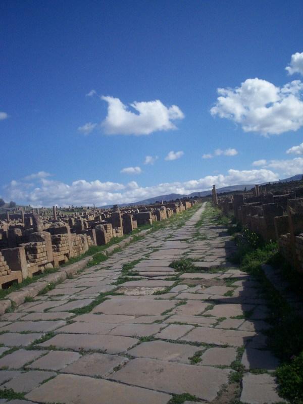 Timgad la  Rome Africaine Photo311