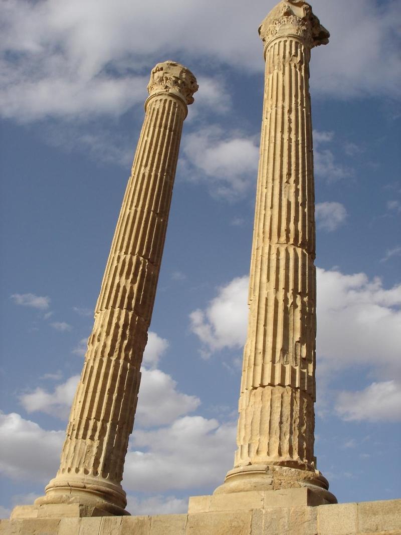 Timgad la  Rome Africaine Tim10