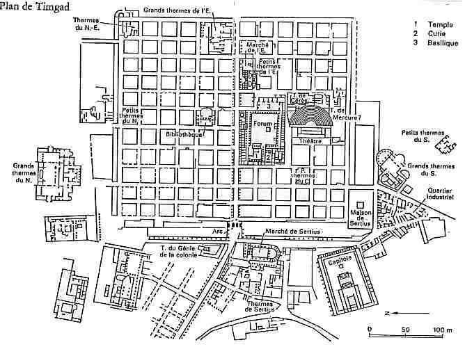 Timgad la  Rome Africaine Timgad10