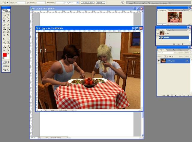 [Intermédiaire] Créer une page de BD à la main (Photoshop CS2)  0515