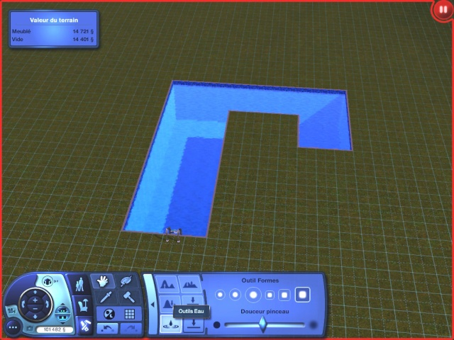[Apprenti] Construire un étang de baignade. [Jeu de base] 0615