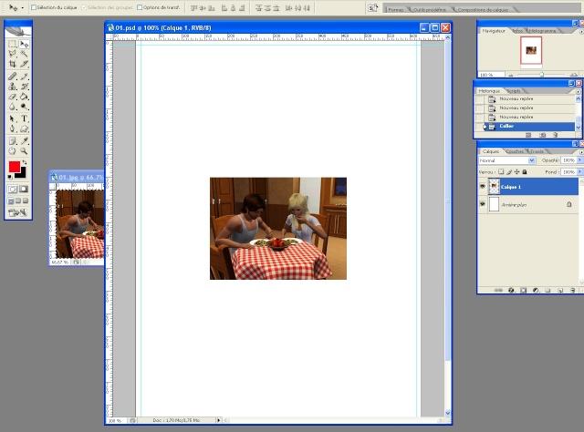 [Intermédiaire] Créer une page de BD à la main (Photoshop CS2)  1214