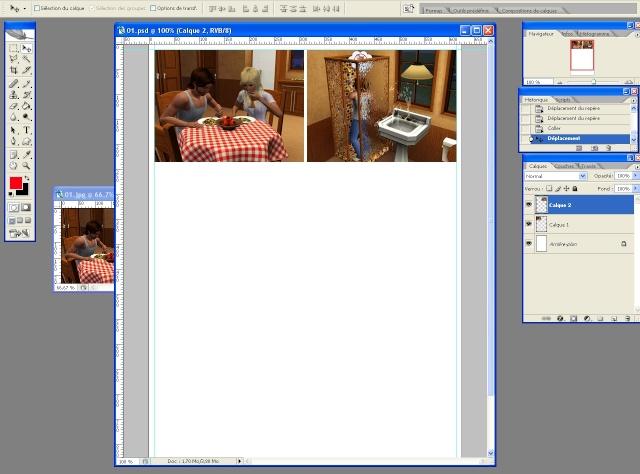 [Intermédiaire] Créer une page de BD à la main (Photoshop CS2)  1313