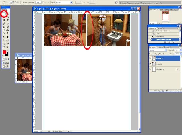 [Intermédiaire] Créer une page de BD à la main (Photoshop CS2)  1413