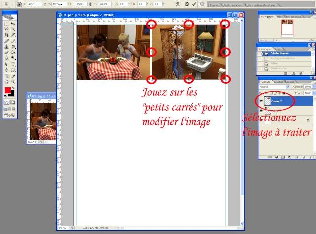 [Intermédiaire] Créer une page de BD à la main (Photoshop CS2)  1515