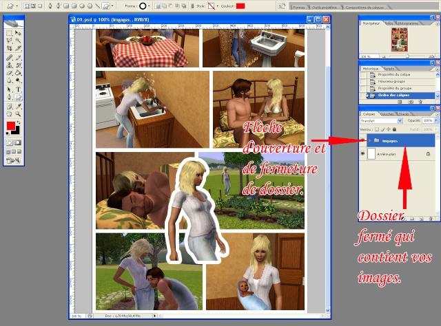 [Intermédiaire] Créer une page de BD à la main (Photoshop CS2)  2011