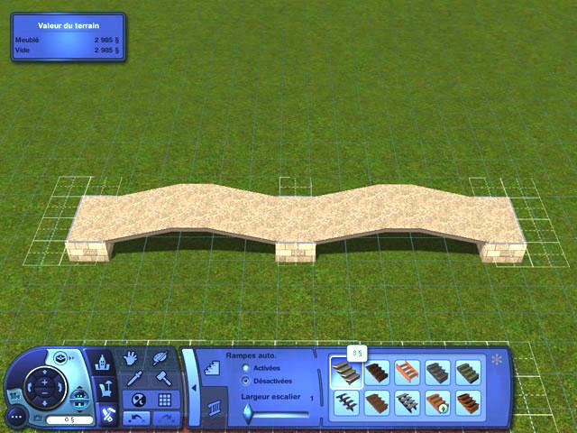 [Apprenti] Construire un pont personnalisé. 2210