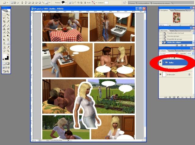 [Intermédiaire] Créer une page de BD à la main (Photoshop CS2)  2311