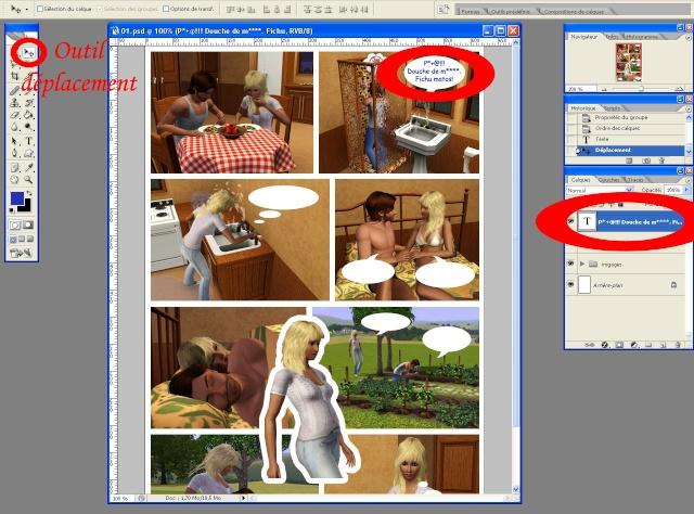 [Intermédiaire] Créer une page de BD à la main (Photoshop CS2)  2511