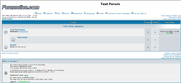 Forum versions  Phpbb210