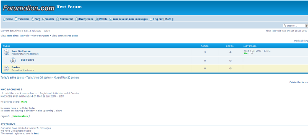 Forum versions  Phpbb310