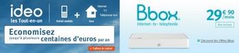 Les offres Bbox et Ideo Sans_t13