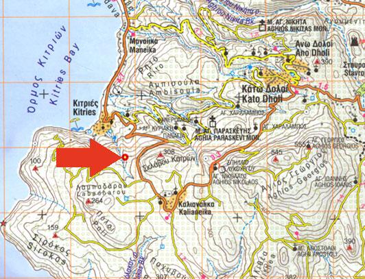 """ΣΠΗΛΑΙΟ """"ΚΑΤΑΦΥΓΙ  ΤΟΥ  ΜΠΑΛΗ"""" 2009 Map_ca10"""