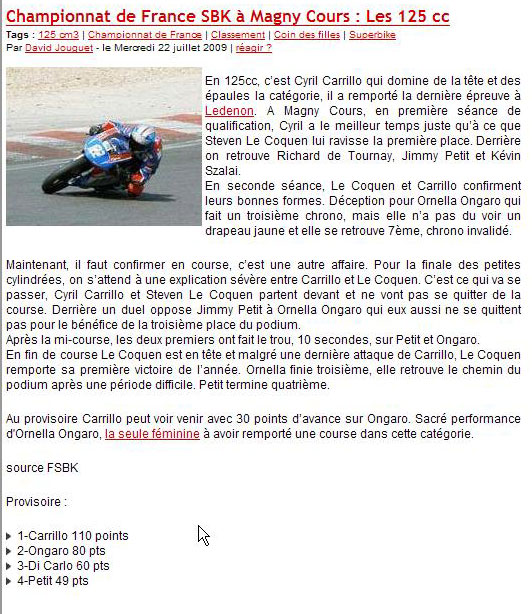 [FSBK] Magny Cours 2009 - Page 2 Magnyc11