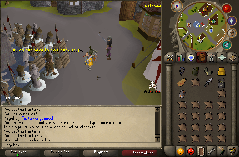 i mag3 you pking with sord! Javaow10