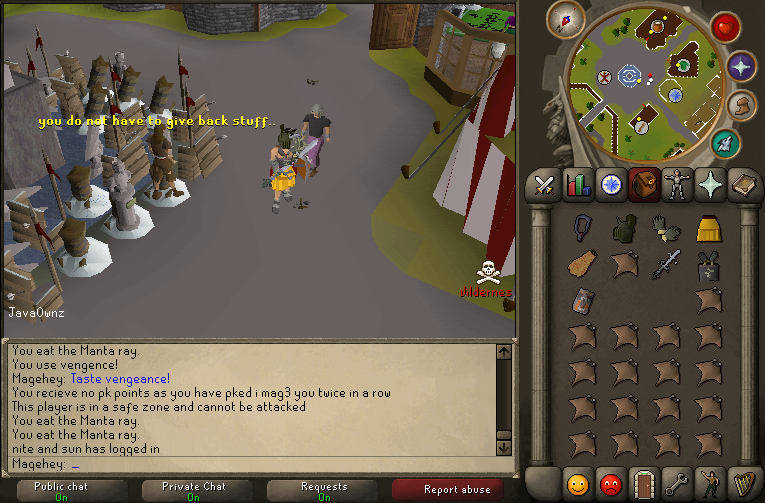 i mag3 you pking with sord! Javaow11
