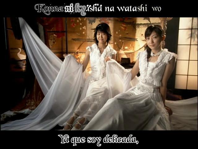 Tsukiatteru no ni Kataomoi(karaoke sub español)Berryz Koubou ---- JavierJp0p Berryz19