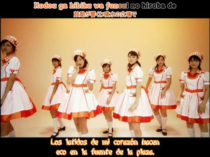 JRF-Kokuhaku nofunsui hiroba(dance shot karaoke sub español)Berryz Koubou ----- JavierJp0p Kokuha10