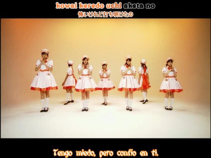 JRF-Kokuhaku nofunsui hiroba(dance shot karaoke sub español)Berryz Koubou ----- JavierJp0p Kokuha12