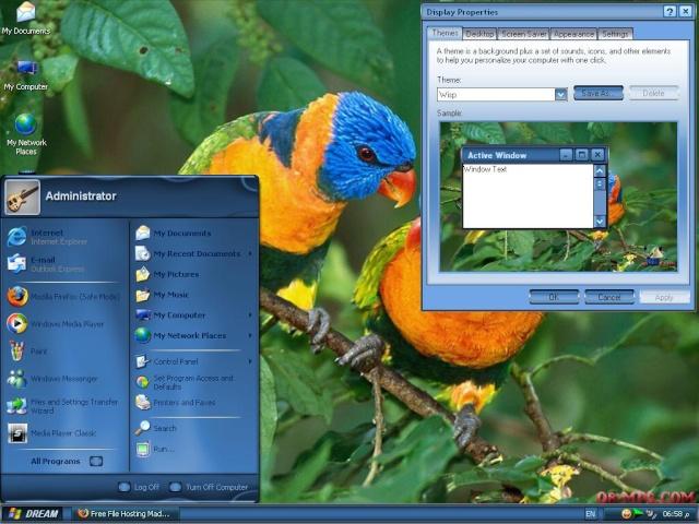 حصريا الويندوز الرائع ( Windows Dream ) بروابط مباشرة على اكثر من سيرفر Untitl35