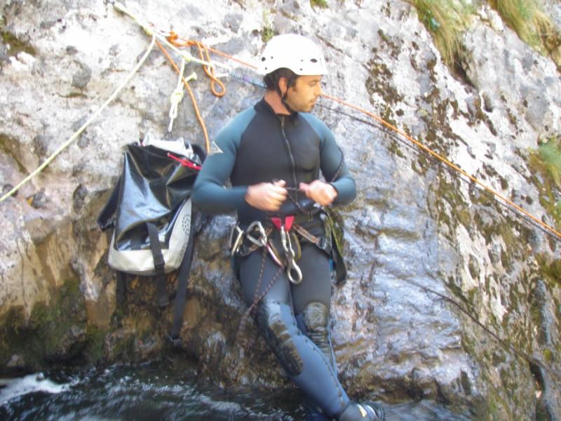 Albano nos lleva a hacer un Cañón (2/6/09) P6020319