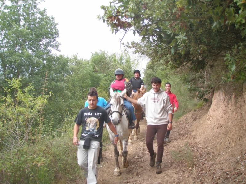 Final de curso con los Caballos de Aravalle (4/6/09) P6040612