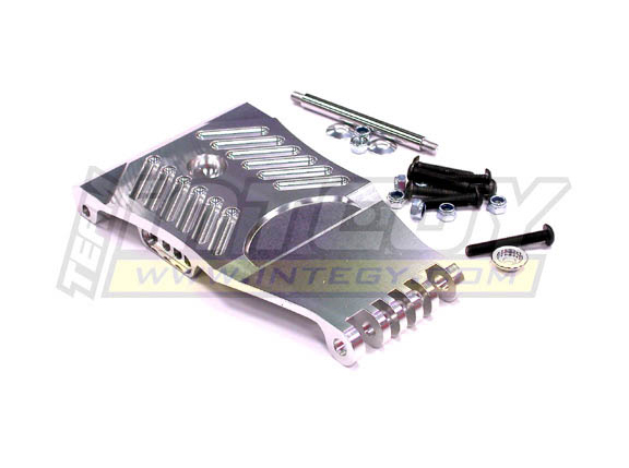 Integy Front Skid Plate Silver for HPI Baja 5T Intt6810