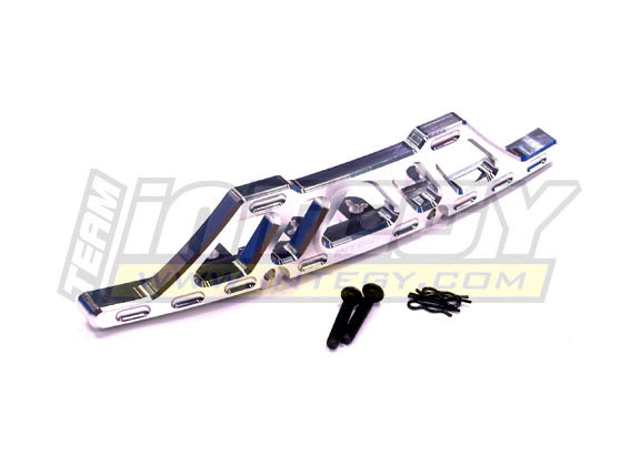 Integy Front Skid Plate Silver for HPI Baja 5T Intt6811