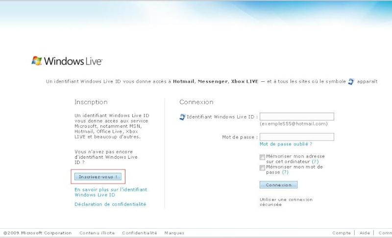 [Astuce] Avoir une adresse MSN avec le nom de domaine que l'on souhaite. Sans_t12