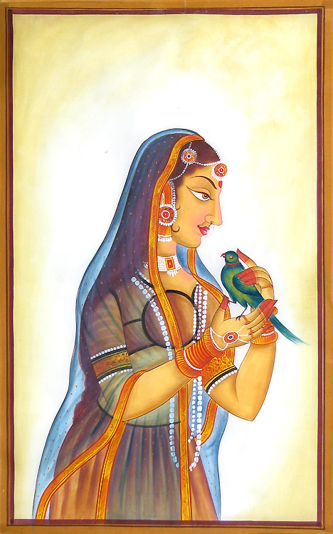 Indian Paintings Cloth_10