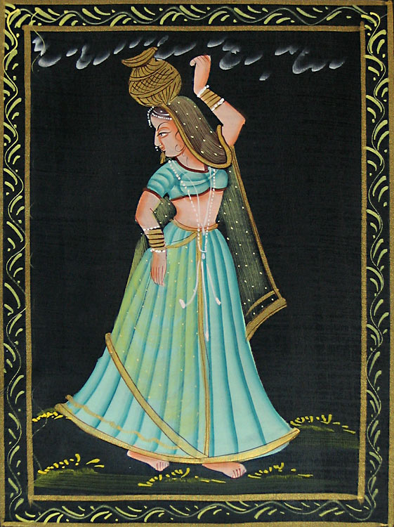 Indian Paintings Cloth_11