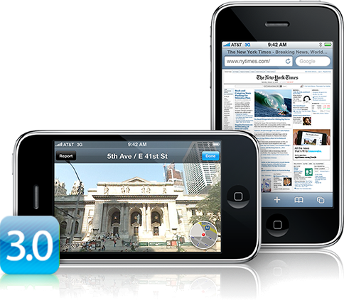 comment bien fermer une application avec le firmware 3.0 Iphone15