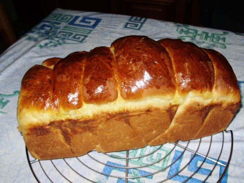Brioche au mascarpone d'Annie cuite au four Brioch15