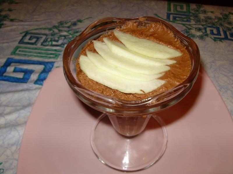 Mousse au chocolat au mascarpone Mousse12