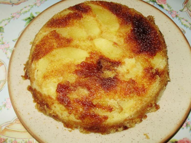 Gateau moelleux aux pommes au MO Photo_10