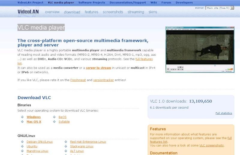 VLC media player Vlc10