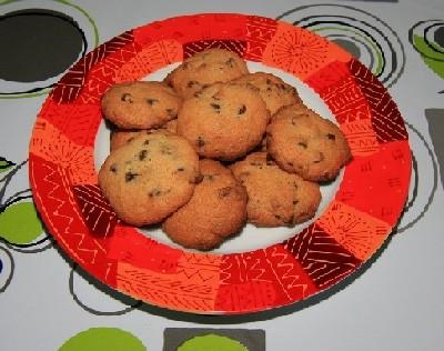 Cookies aux pépites de chocolat Cookie10