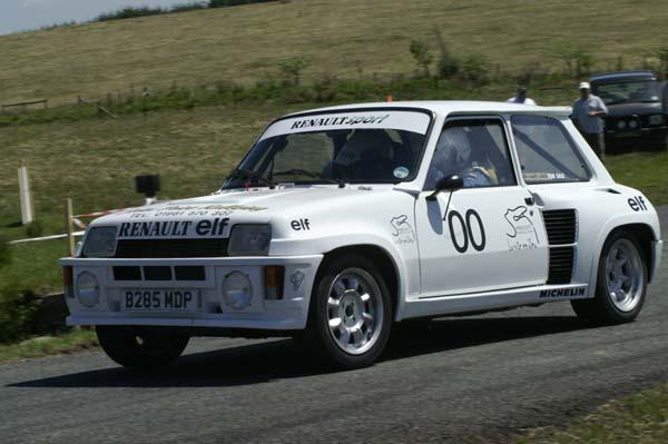 John Price Rallying Mini-e10